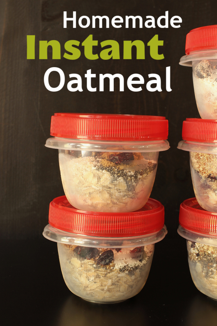 Homemade Instant Oatmeal | Life as Mom