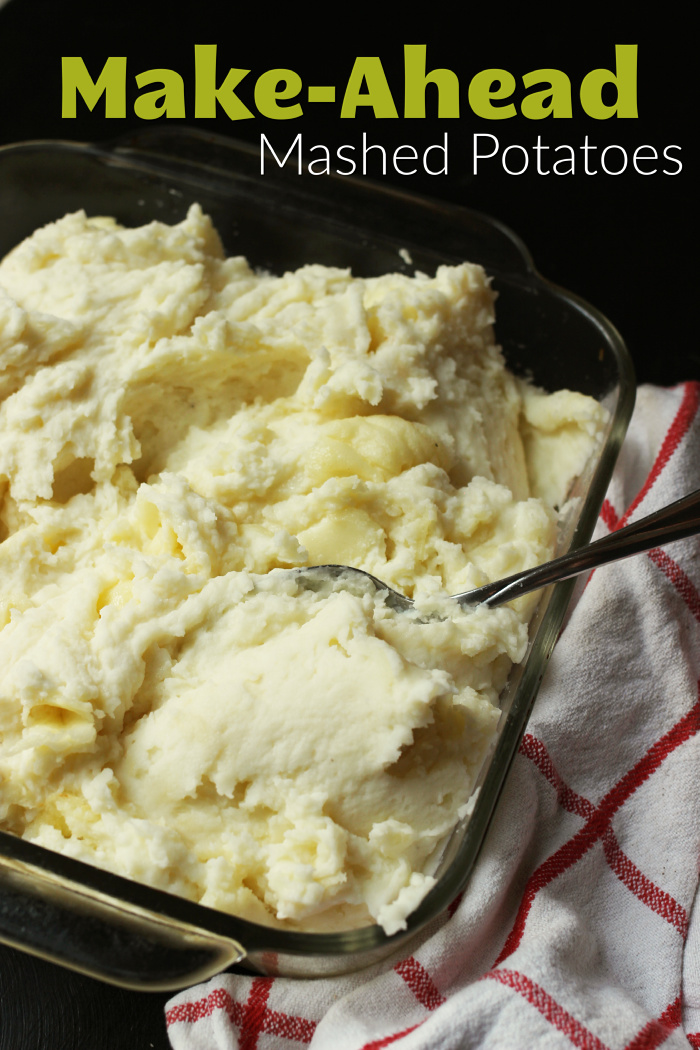 Make-Ahead Mashed Potatoes | Jessica Fisher