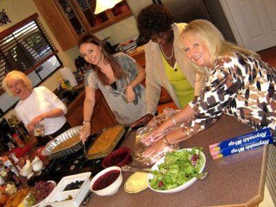 Thanksgiving at Gramma's