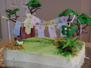 clothes cake