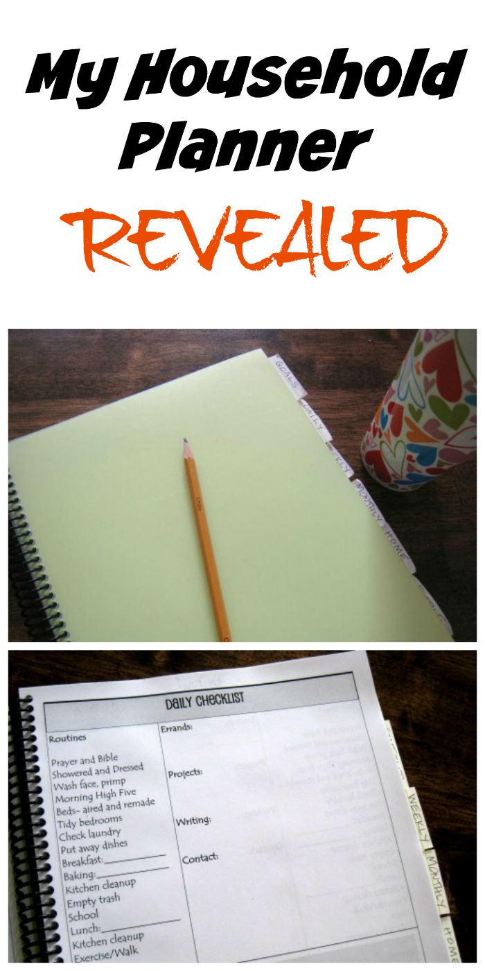 My Household Planner Revealed | Life as Mom