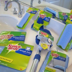 Take the Scotch-Brite Bathroom Challenge