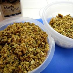 Foccacia, Butterhorns, Granola, and My Own Mixes