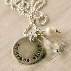 By Grace Alone Necklace (A Giveaway from DaySpring)