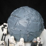 Death Star Birthday Cake - Easy, tutorial for a Death Star Birthday Cake.