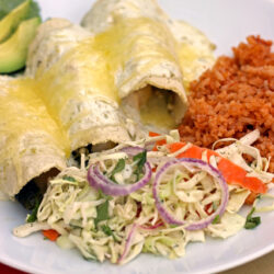 Poblano Chile Enchiladas