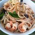 Shrimp Basil Pasta
