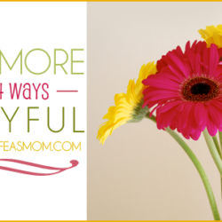 Be More Joyful! | 14 Ways a Mom Can Be More Joyful