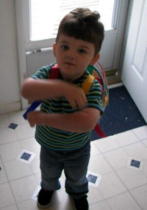 Aidan1stdayschool