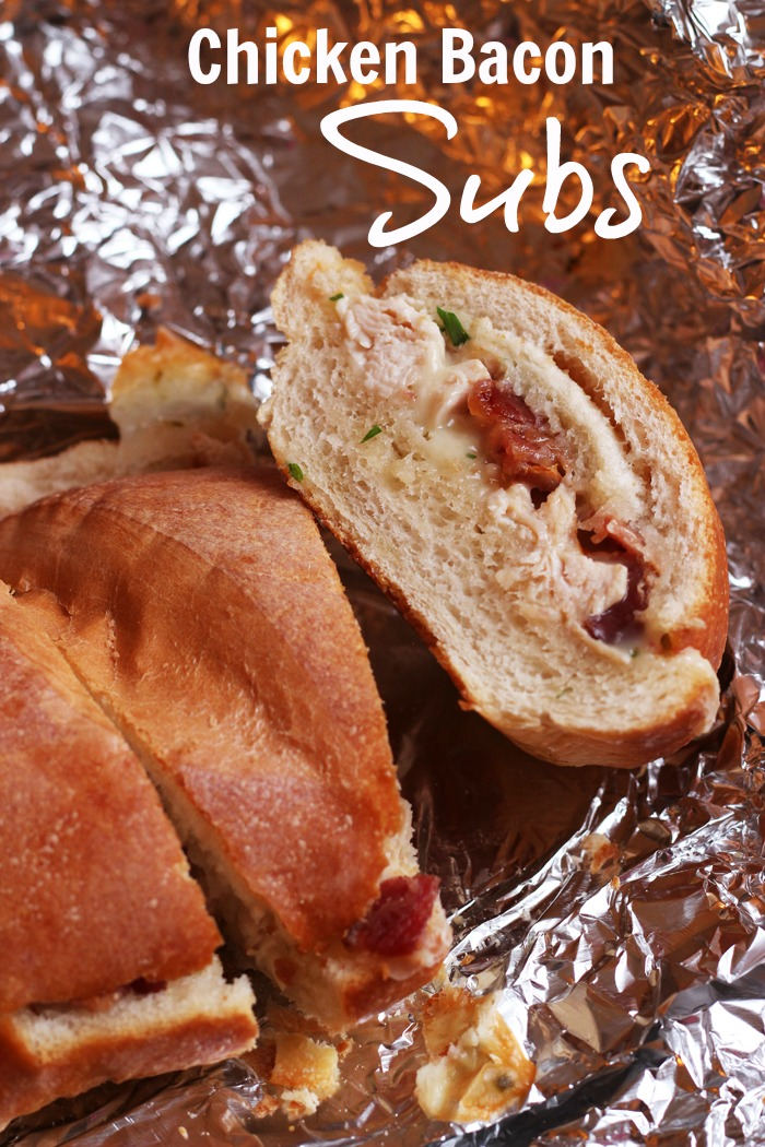 Chicken Bacon Subs for the Freezer | Life as Mom