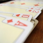 Card games are fun to play with kids. Make this card holding board so that little hands don