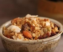 Christmas Breakfast, Gourmet Granola and a Giveaway!