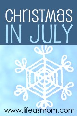 It's Coming! Christmas (in July)