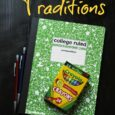 Back to School Traditions | Life as Mom