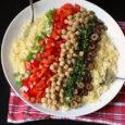 layered couscous salad
