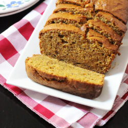 Favorite Spiced Pumpkin Bread Recipe