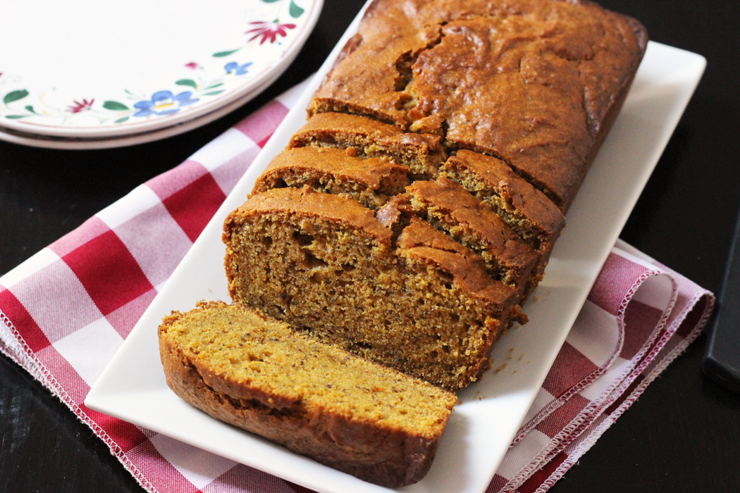 Favorite Spiced Pumpkin Bread Recipe | Life as Mom