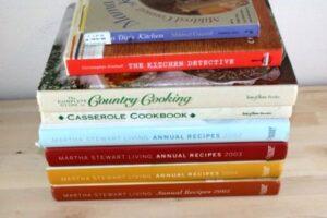 (pic 3) used cookbooks