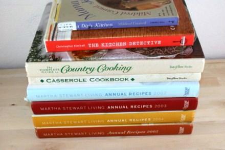 Finding Cookbooks for Less
