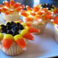 sunflower and mums cupcakes