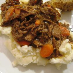 Beef & Eggplant Stew, Cozy Suppers, & An Ultimate Recipe Swap