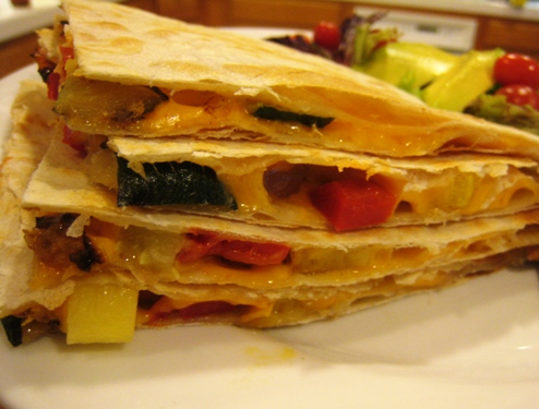 Easy Quesadillas & Busy Night Dinners (An Ultimate Recipe Swap)