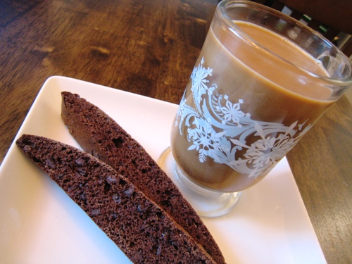 Biscotti and Coffee