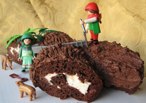 Sponge cake recipe for buche de noel