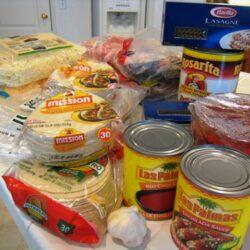 December Freezer Cooking Groceries