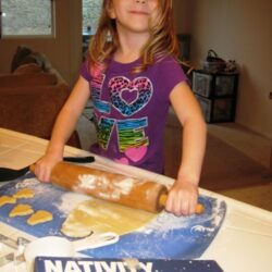 Make Jesus Cookies with a Nativity Bake Set