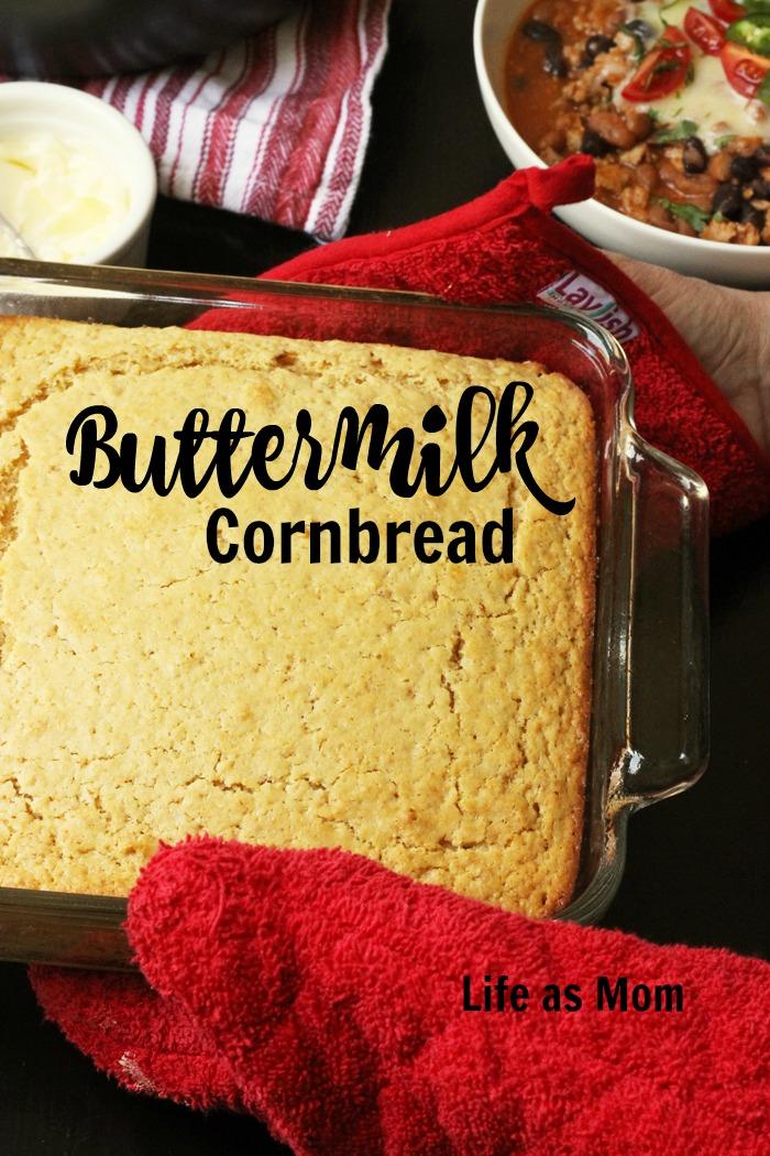 Buttermilk Cornbread | Life as Mom