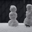snow man pink sherbet