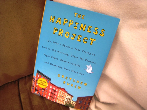 Booking It with The Happiness Project