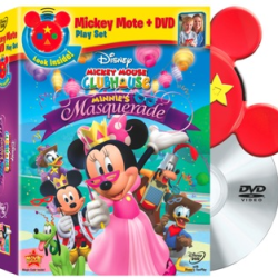 Minnie's Masquerade DVD & Mickey Mote – Giveaway Now Closed