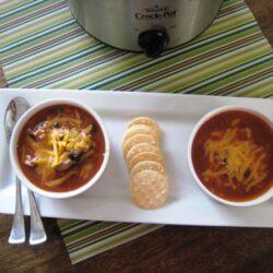 Bean and Rice Soup (URS: Crockpot Recipes)