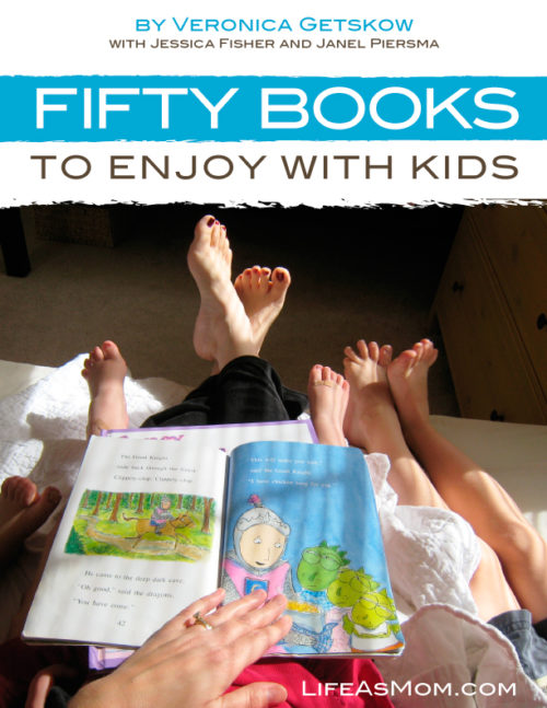 Enjoy 50 Books with Kids - a reading guide for parents and young children, complete with activities, crafts, and recipes.