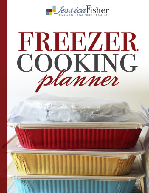 Freezer Cooking planner