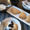 Oat Shortcakes with Blackberries