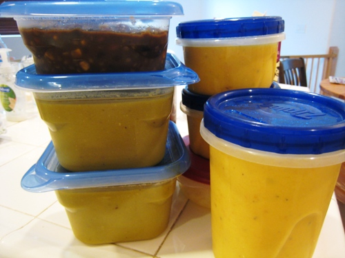 How to Make Soup for the Freezer