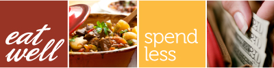 Eat Well Spend Less logo