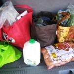 groceries van