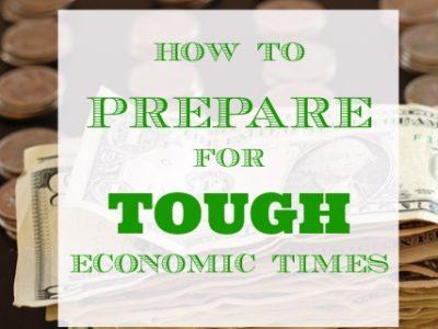 tough economic times
