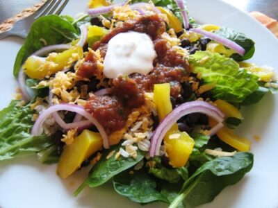 Beans & Rice Taco Salad (Ultimate Recipe Swap: Salads)