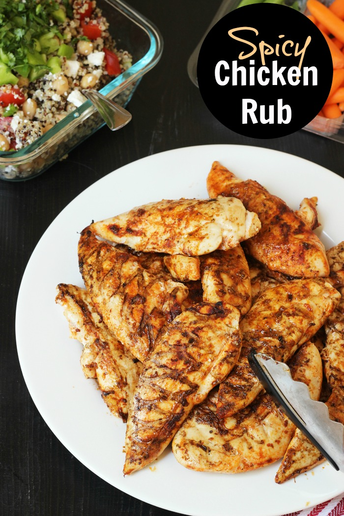 Spicy Chicken Rub | Life as Mom