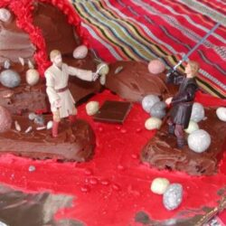 jedi sith birthday cake