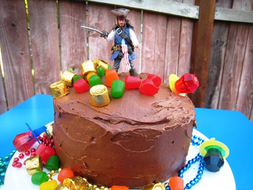 Captain Jack – Pirates of the Caribbean Cake