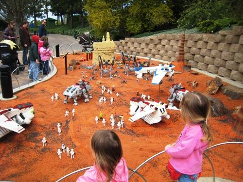 legoland star wars. new Star Wars Miniland.
