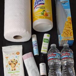 Be Prepared for Car Sickness
