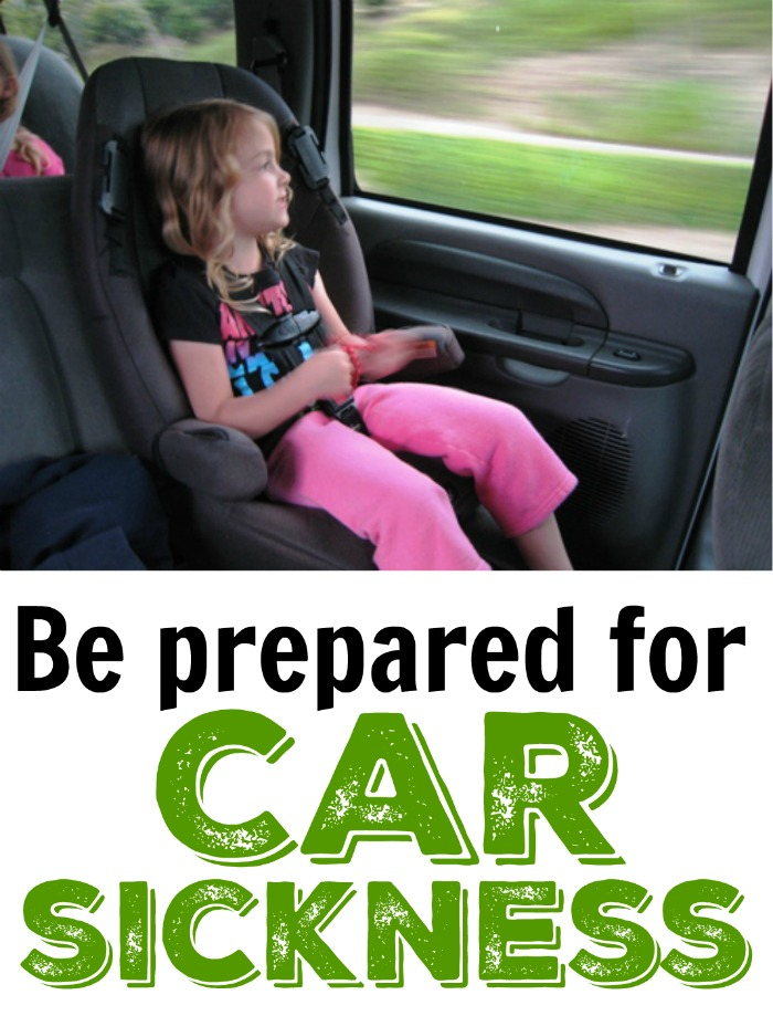 Be Prepared for Car Sickness | Life as Mom