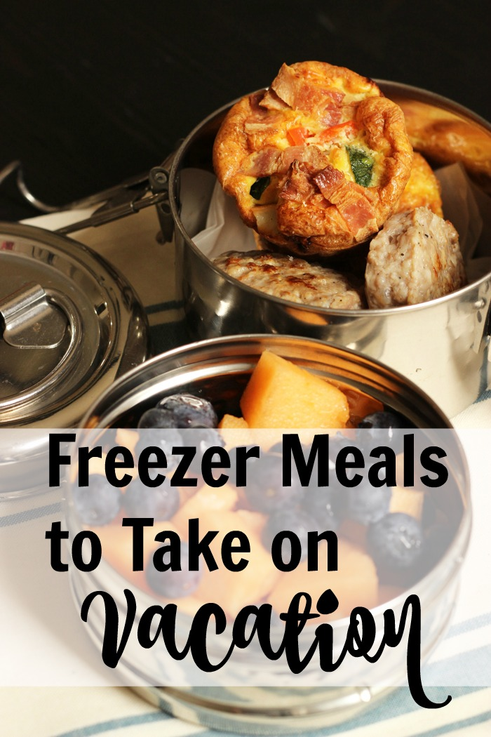 Freezer Meals on Vacation | Life as Mom